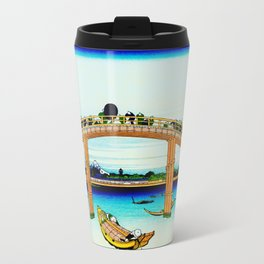 Mannen Bridge and Mount Fuji Travel Mug