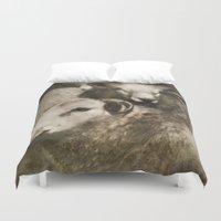 sheep Duvet Covers featuring Sheep by John Beswick