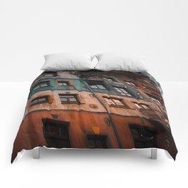 Hundertwasser museum Comforters