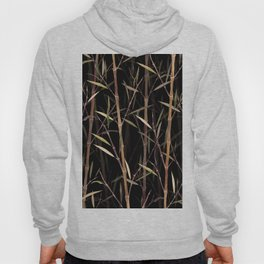 Dry Bamboo Forest at Night Hoody