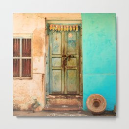 Bright Home in Tamil Nadu, India Metal Print