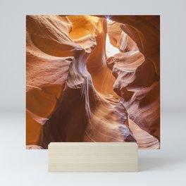 ANTELOPE CANYON Waves Mini Art Print