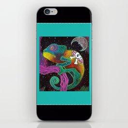 Midnight Chameleon iPhone Skin