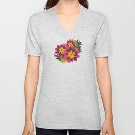 Flowers for Lola Unisex V-Neck