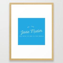 Leading Ladies 2016 - Jessie Framed Art Print