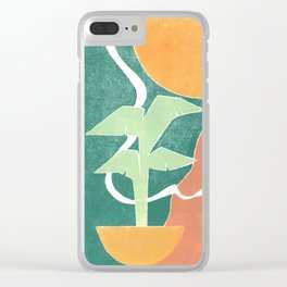 Barcelona no. 1 Clear iPhone Case