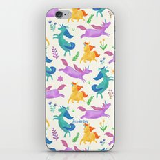 Unicorn Dreams iPhone & iPod Skin