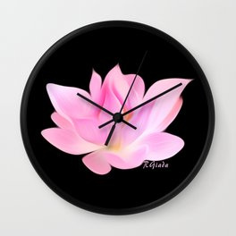 Simply lotus  Wall Clock