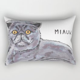 Meow/Miauw Rectangular Pillow