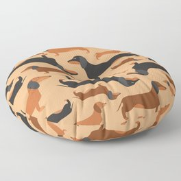 Dachshunds Floor Pillow