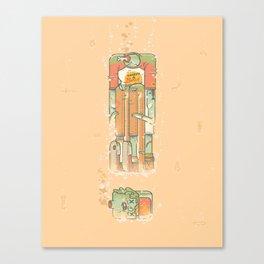 Cannonball Canvas Print