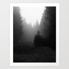 even more trees. Art Print