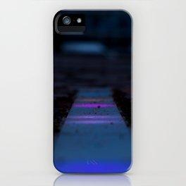 Floor lights iPhone Case