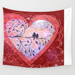 An angel Wall Tapestry
