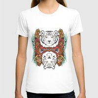 tigers T-shirts featuring Tigers by Ornaart