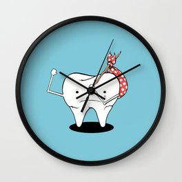 Its Tooth Soon To Say Goodbye Wall Clock