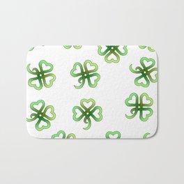 Celtic Clover Bath Mat