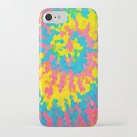 tie dye iPhone & iPod Cases featuring Tie Dye by Jillian Stanton