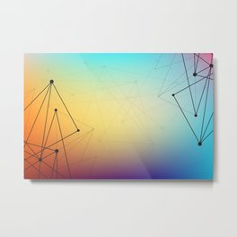 Abstract Background 16 Metal Print
