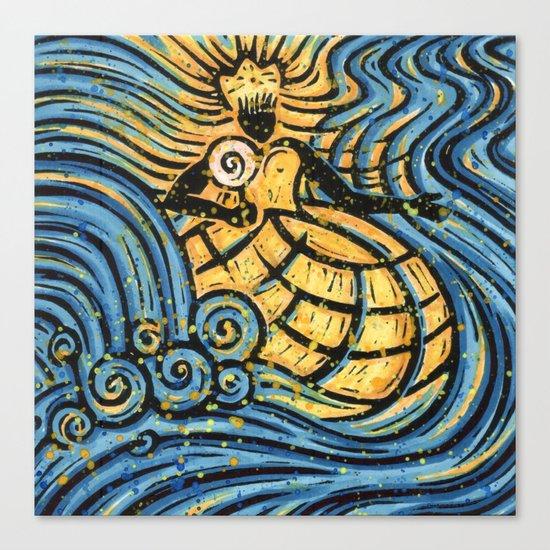 Orixás - Oxum Canvas Print