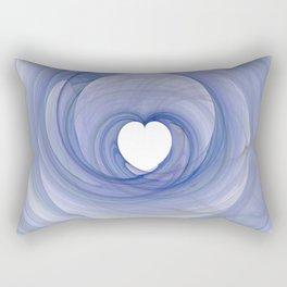 Valentine's Fractal III - Light Rectangular Pillow