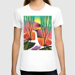 Sunset Curve T-shirt
