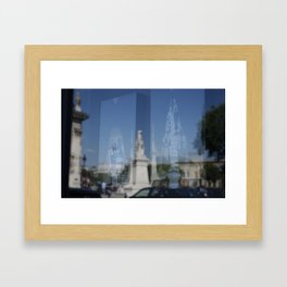 Fashion in Paris Framed Art Print