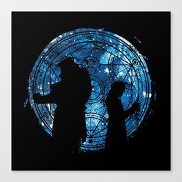 Alchemist of Silhouette Canvas Print