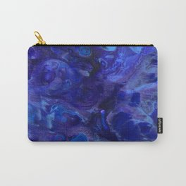 Blue Abyss Abtract Carry-All Pouch