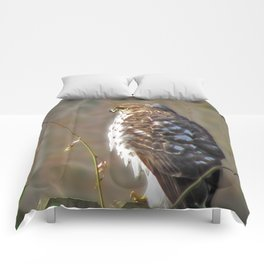 A Hunter in a Farmer's World Comforters