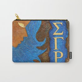 Sigma Gamma Rho Sister in Profile Carry-All Pouch