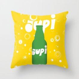 Glory to Yugoslavian design Throw Pillow