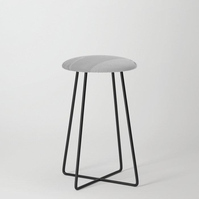Lone African Penguin walking on beach Counter Stool