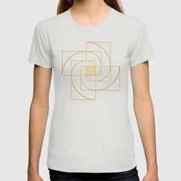 Golden Pinwheel T-shirt