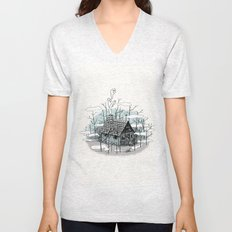 DEEP IN THE HEART OF THE FOREST Unisex V-Neck