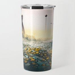 Golden meadow Travel Mug