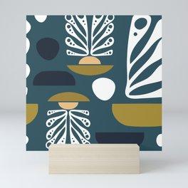 Abstract Boats Mini Art Print