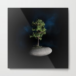 The First Sanctuary in Space Metal Print