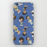 1d iPhone & iPod Skins featuring Sleepy 1D by Ashley R. Guillory