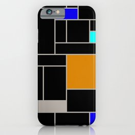 French Modern 2 Larger Pattern iPhone Case