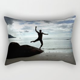 Open your mind, freedom's a state Rectangular Pillow