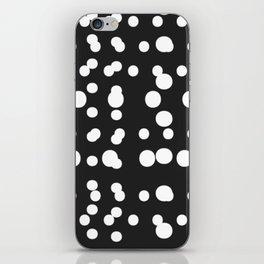 Polka Dot Scramble iPhone Skin