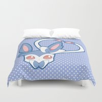 sylveon Duvet Covers featuring Shining Attract by Burashi