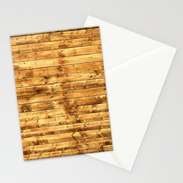 Grunge Rustic Wood pattern Stationery Cards