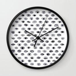 Lucky Eyes Wall Clock