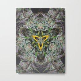 Crystal Cave Metal Print