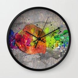 Colorsplash II Wall Clock