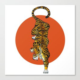 The Traditional Tiger Canvas Print