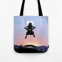 Storm Kid Tote Bag