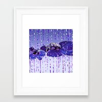 orchid Framed Art Prints featuring Orchid by Saundra Myles
